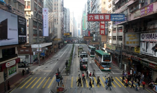 Hong Kong, almost New York...
