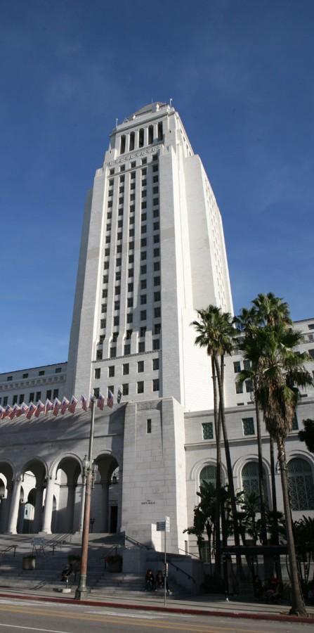 L.A. City Hall.