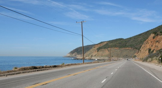 The Pacific Coastal Highway, one of the most enjoyable roads in the U.S.