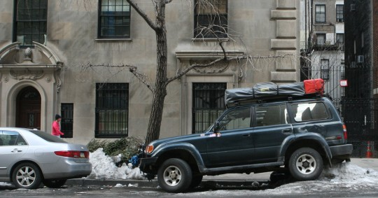 Parking in New York can be challenging, even for a world class traveler.