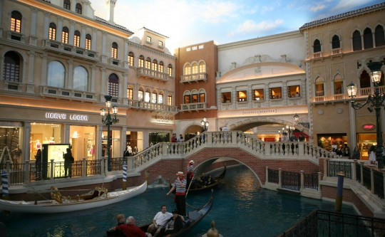 The Venetian casino and hotel, built at a cost of $1.5 billion.