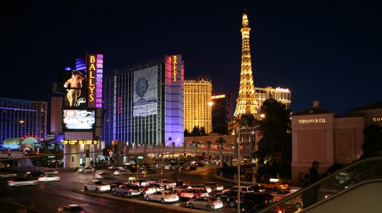 View of the Strip.